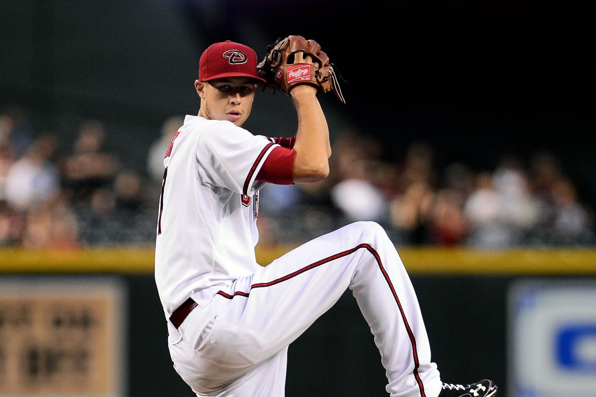 Tyler Skaggs was terrific as he carried a shutout into the 9th in a 1-0 win.