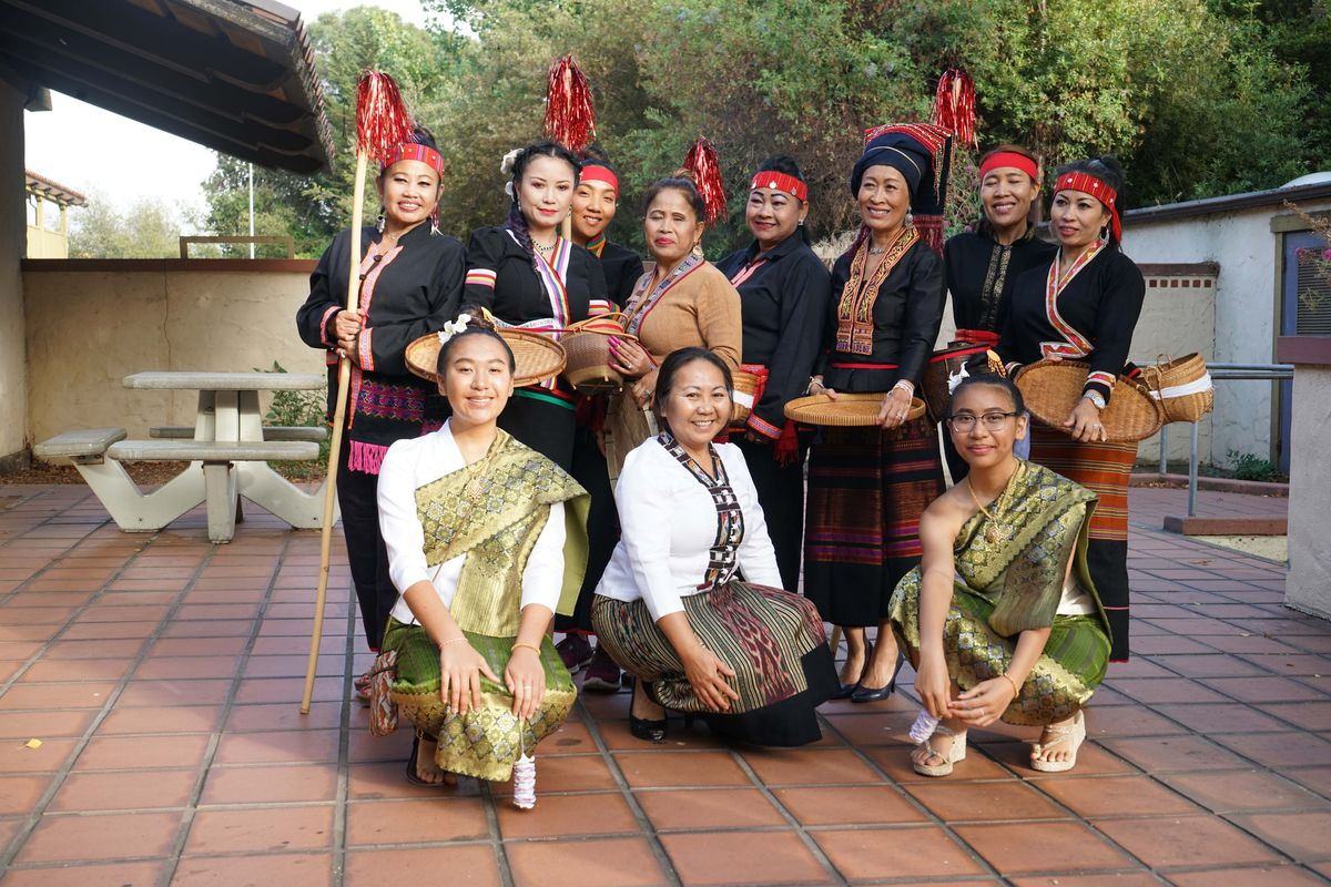 Dancers at last year's inaugural Rice and Water Festival