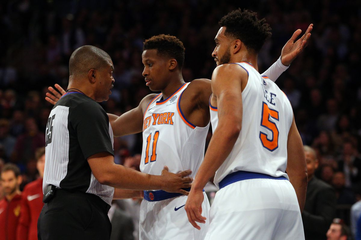 NBA: Cleveland Cavaliers at New York Knicks