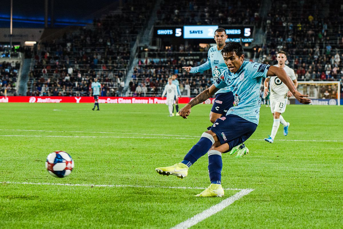 A friendly between Pachuca and Minnesota United