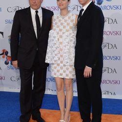 Dior CEO Sidney Toledano, Marion Cotillard, Raf Simons