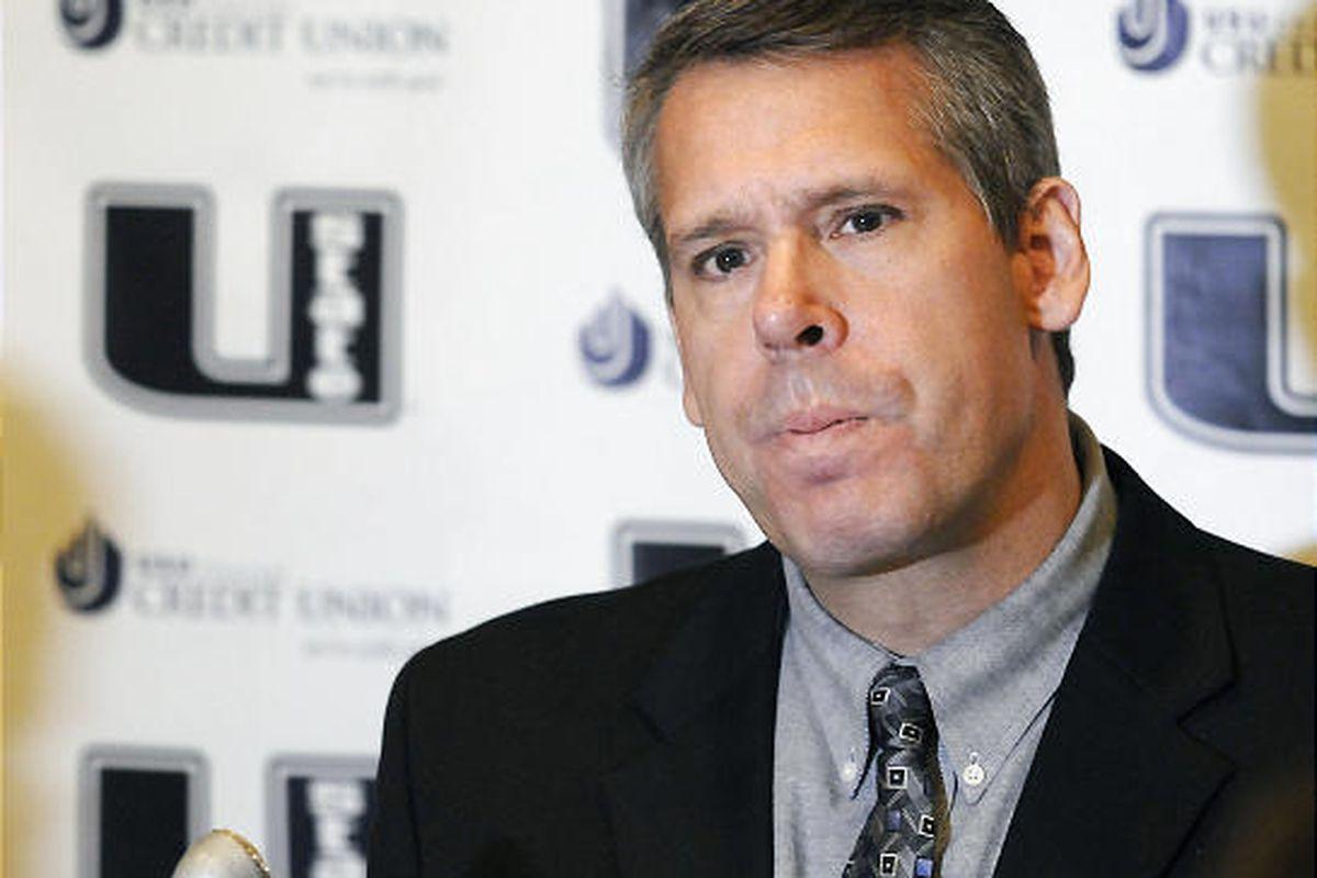 Utah State University Athletics Director Scott Barnes