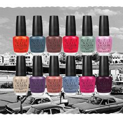 This spring, OPI released their Holland nail polish collection. The color names included Vampsterdam, Thanks a Windmillion, and A Roll in the Hague.