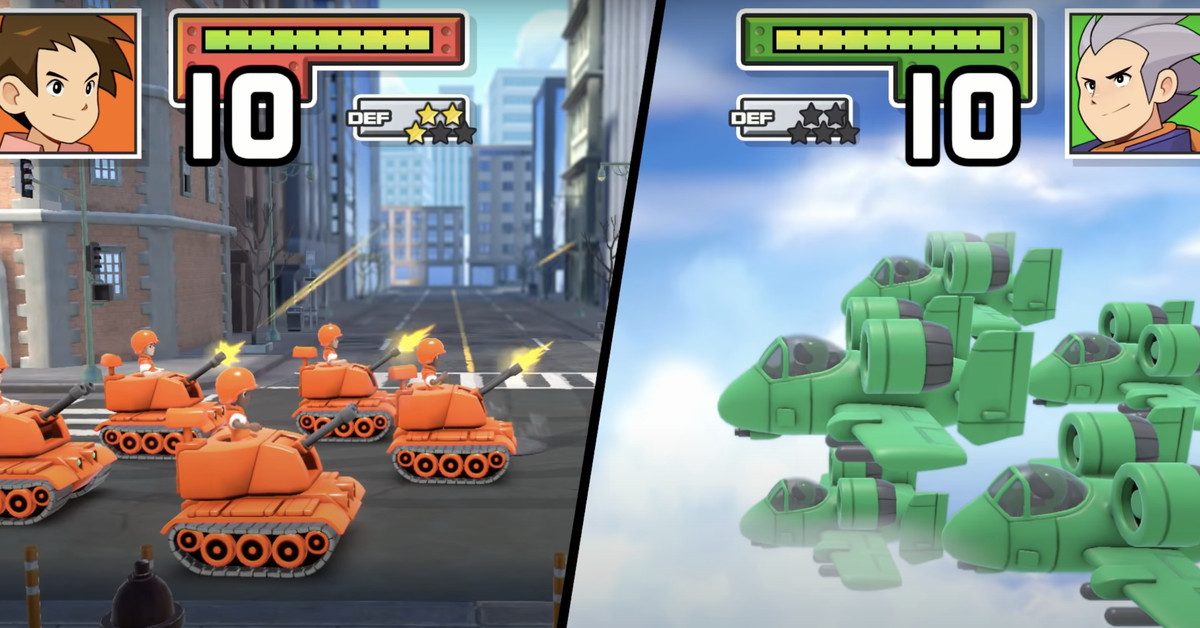 Advance Wars 1+2 Re-Boot Camp for Nintendo Switch is delayed