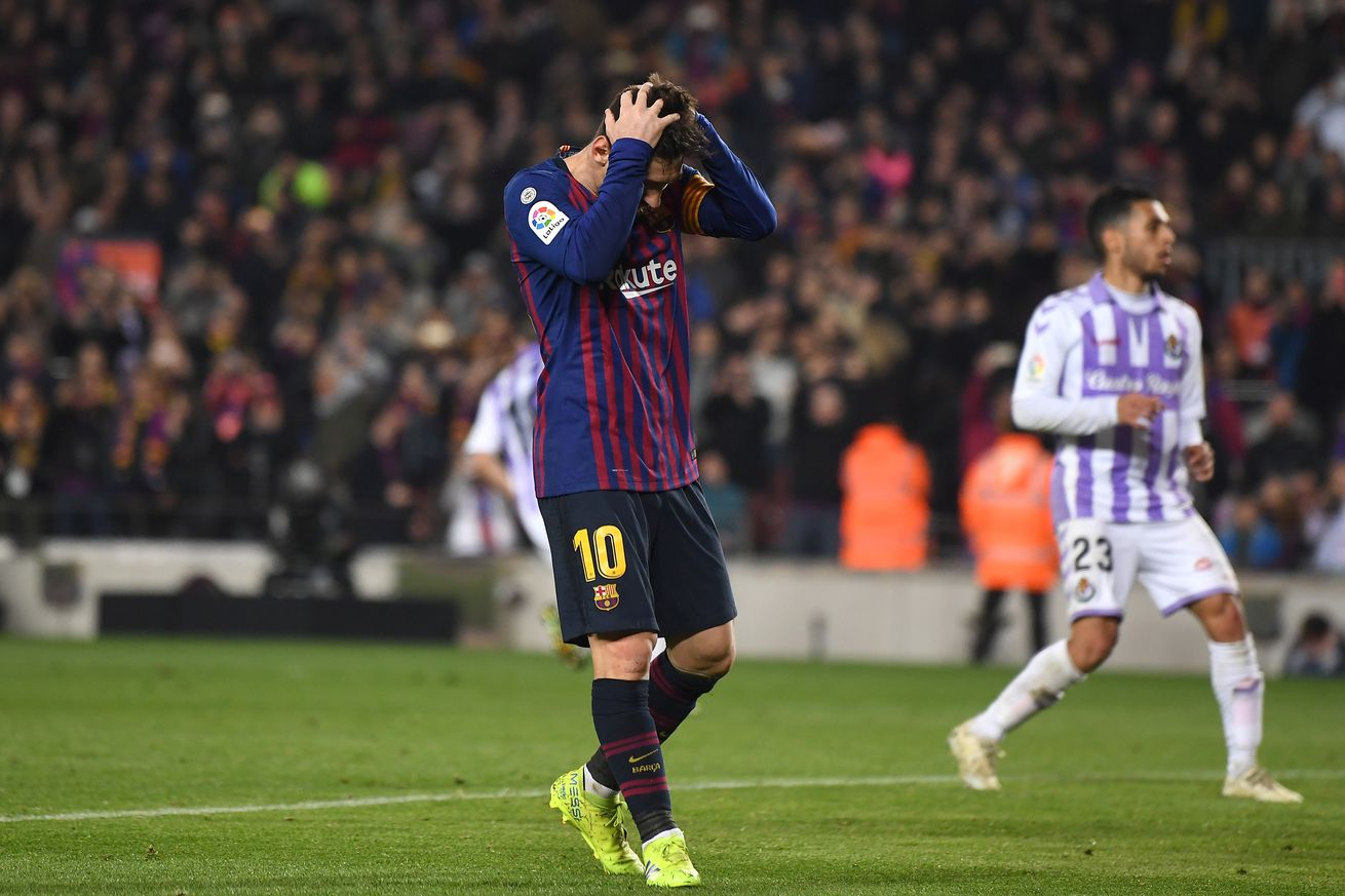 Three talking points from Barca?s win over Valladolid