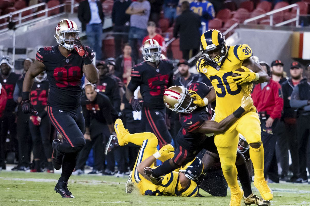 Rams vs 49ers Todd Gurley is back thanks to new coach Sean