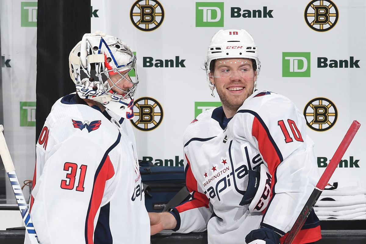Washington Capitals v Boston Bruins - Game Four