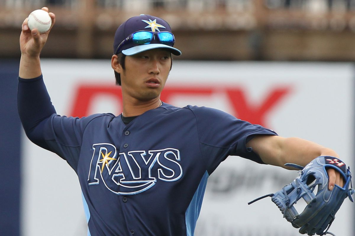 Hak-Ju Lee of the Rays