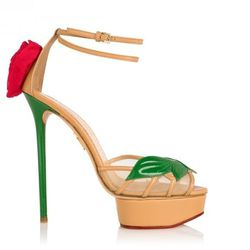 """<b>Charlotte Olympia</b>, 6 inches, <a href=""""http://www.charlotteolympia.com/rose.html"""">$1,150</a>"""