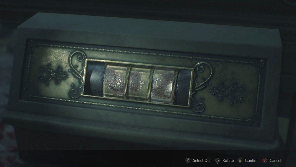 Resident Evil 22nd Run Maiden Medallion solution