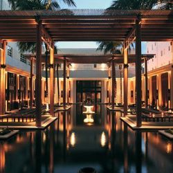 """<i><strong><a href=""""http://www.thesetaihotel.com/"""">The Setai</a></strong>, 2001 Collins Avenue, Miami. [<a href=""""https://www.facebook.com/theSetai"""">Photo</a>]</i>"""