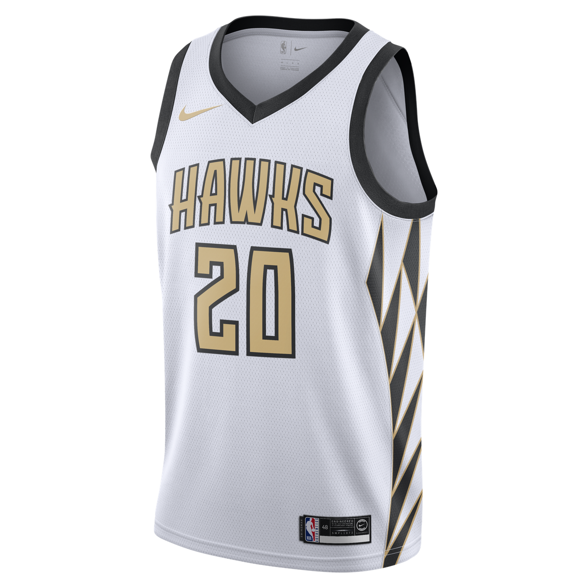0b9239d19e2 John Collins Nike Swingman Jersey - City Edition for  109.99 Fanatics