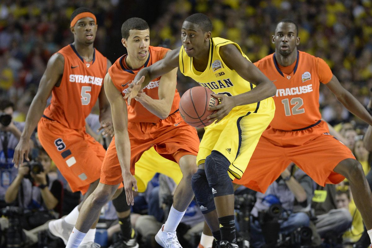 One of the matchups that jump out on paper is Michigan-Syracuse.
