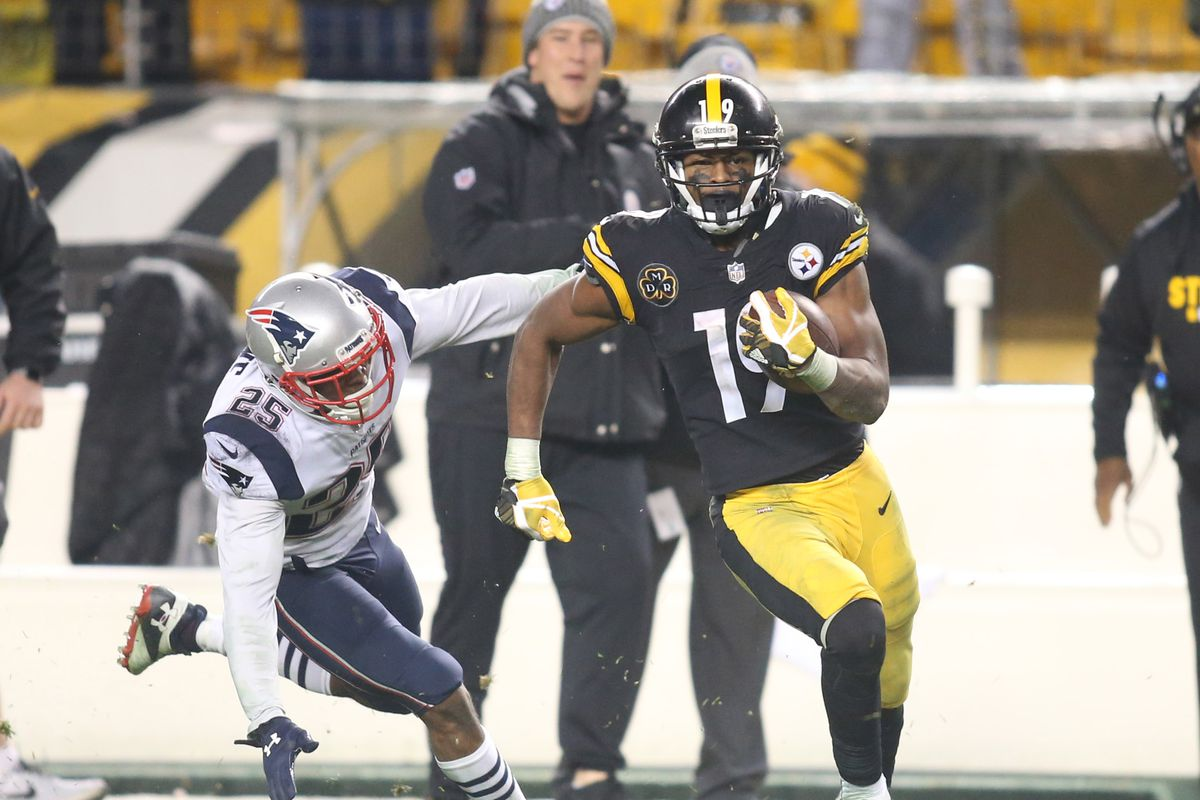 9ffb2ee8b Bill Belichick singled out JuJu Smith-Schuster for some on-field praise  after losing to the Steelers