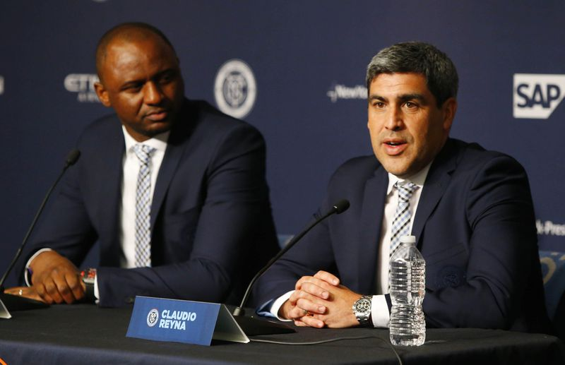 MLS: New York City FC Patrick Vieira-Press Conference