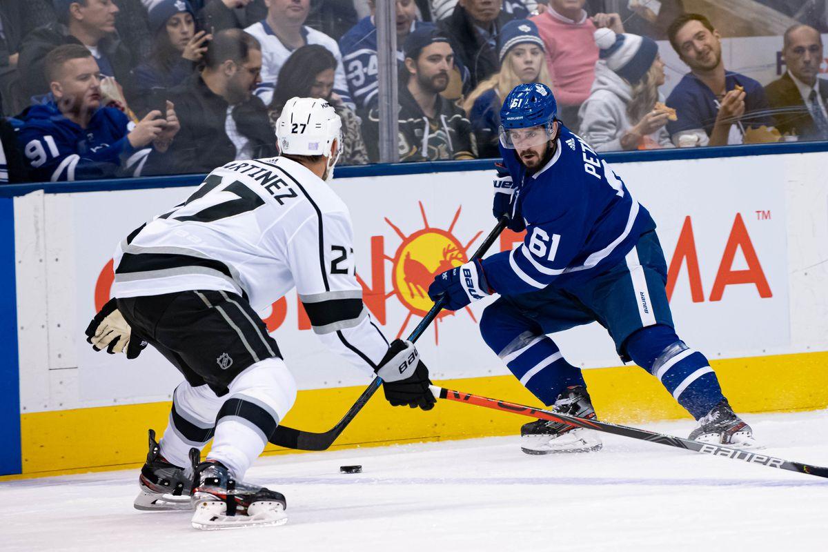 NHL: NOV 05 Kings at Maple Leafs