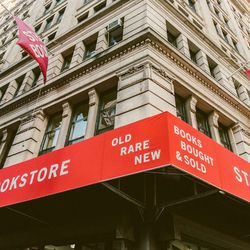 """<b>↑</b><b> You could while away an entire day at <a href=""""http://www.strandbooks.com/"""">The Strand</a></b> (828 Broadway)—there <i>are</i> 18 miles of books, after all. Check out the discount tables lined up outside the entrance, and then head in to brows"""