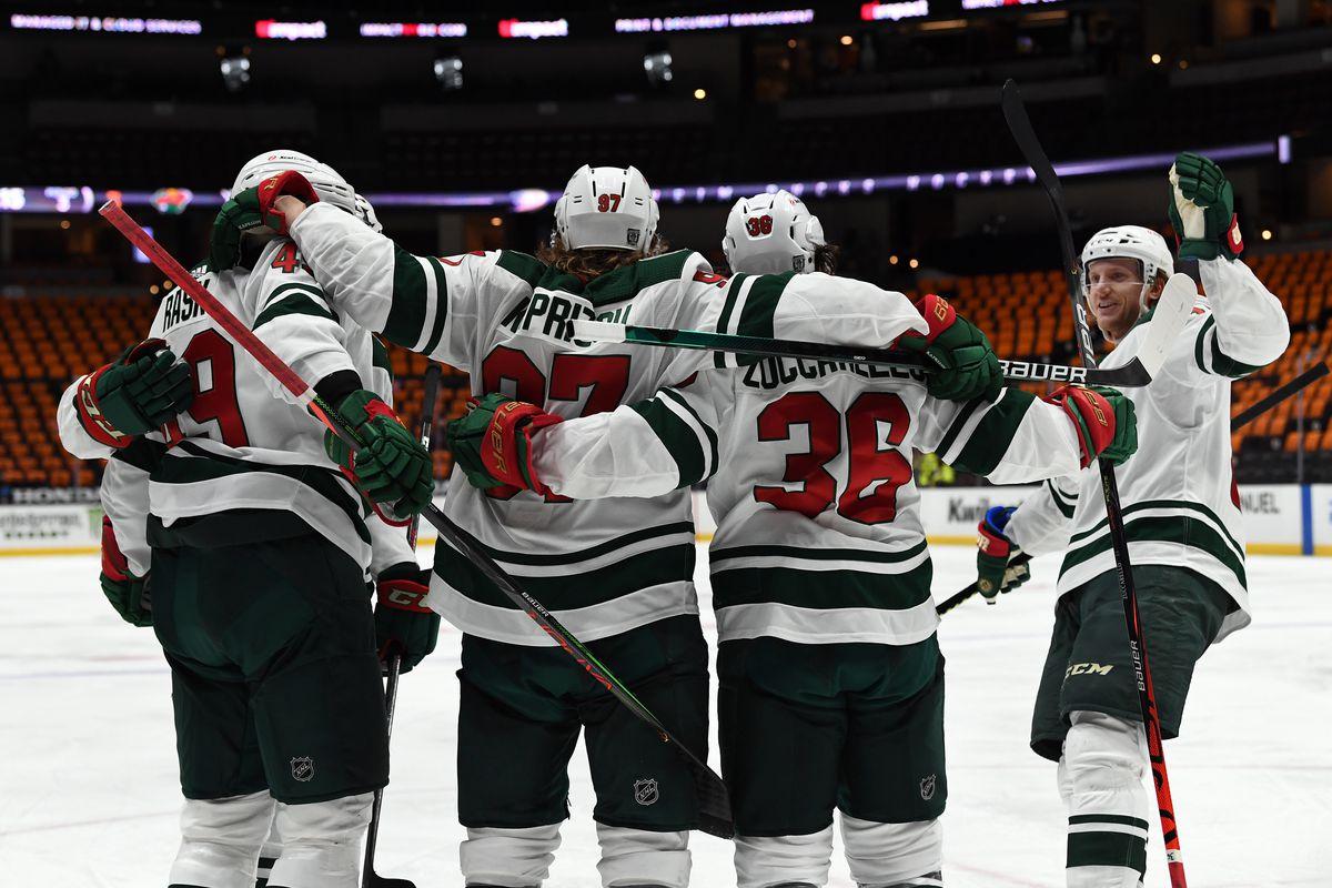 NHL: FEB 20 Wild at Ducks