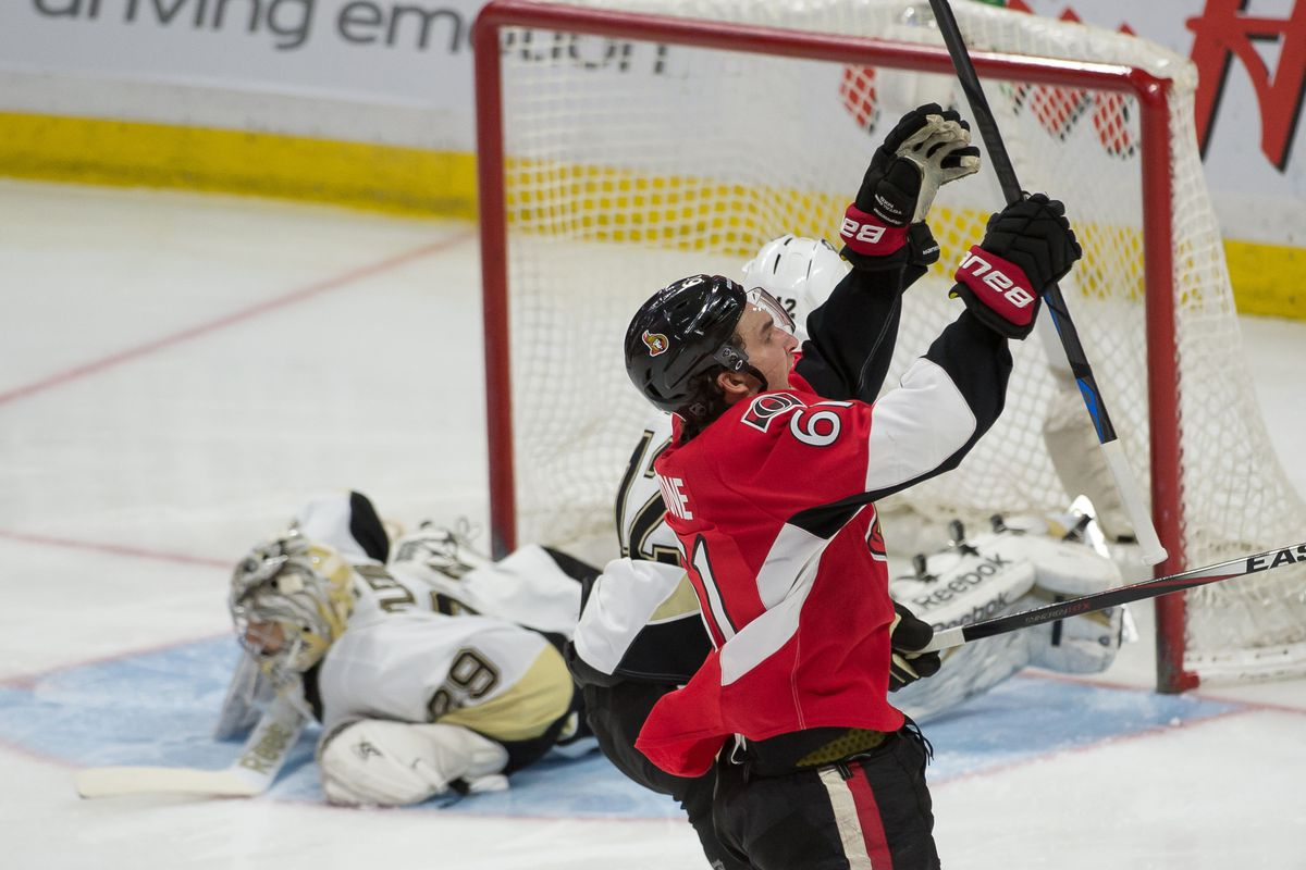 I'd be OK with only using pictures of Mark Stone celebrating from now on