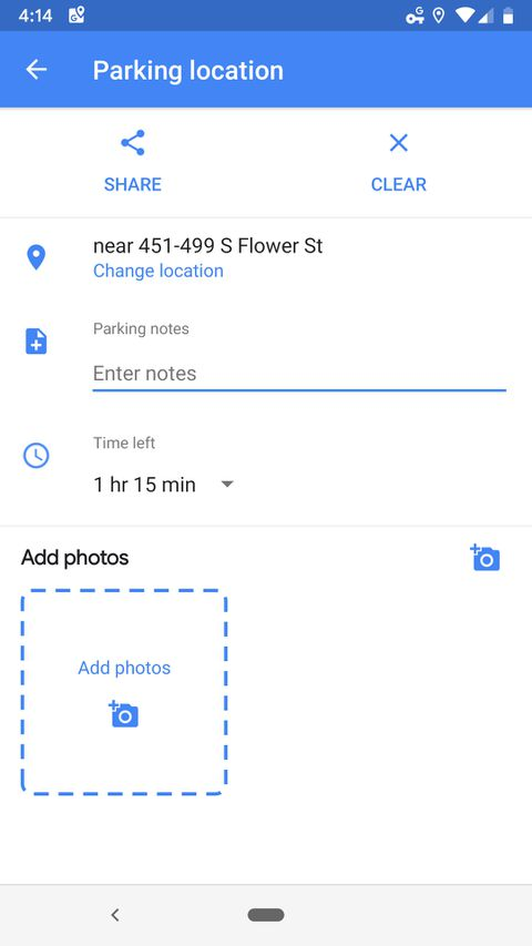How to use Google Maps to save your parking location - The Verge Change Location Google Maps on