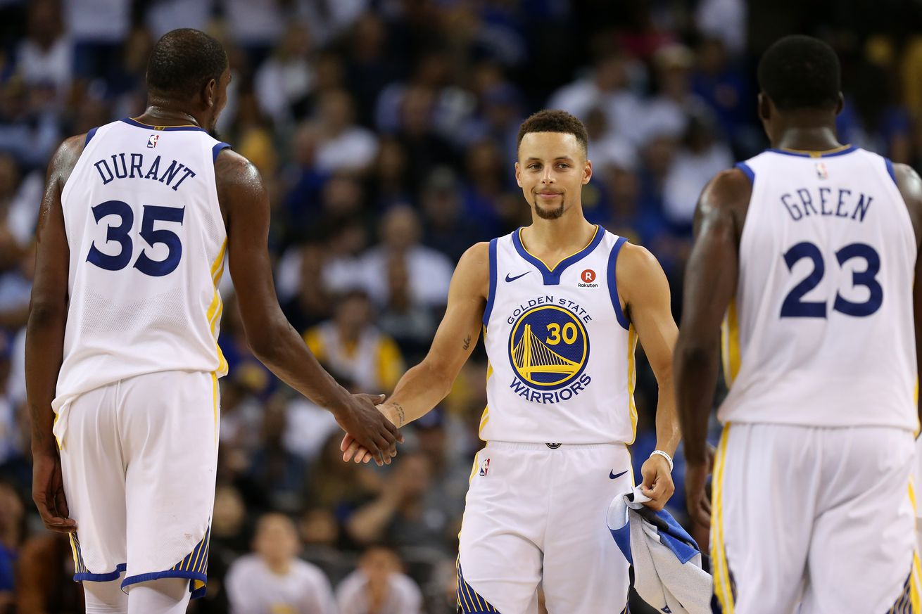 Five observations from the Warriors playing with Pelicans' emotions