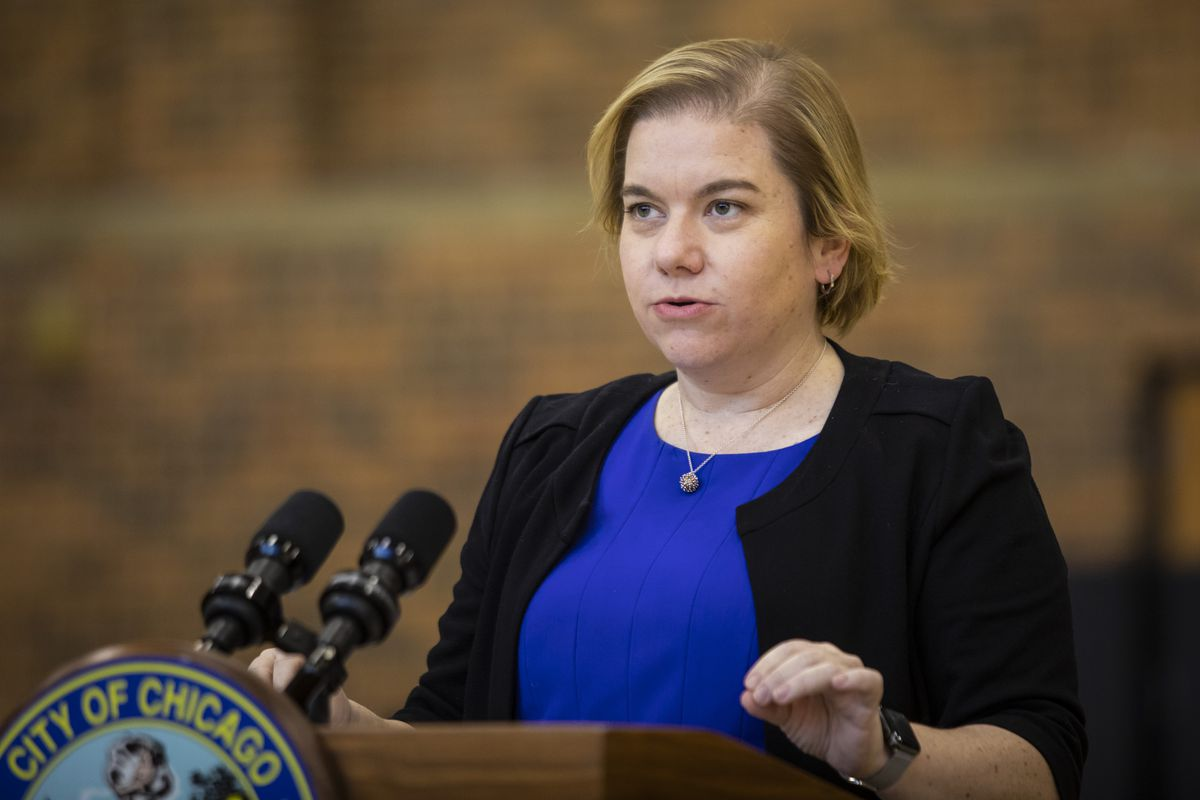 """Dr. Allison Arwady, commissioner of the Chicago Department of Public Health: """"I do worry that there are whole parts of Chicago that are just not vaccinated."""""""