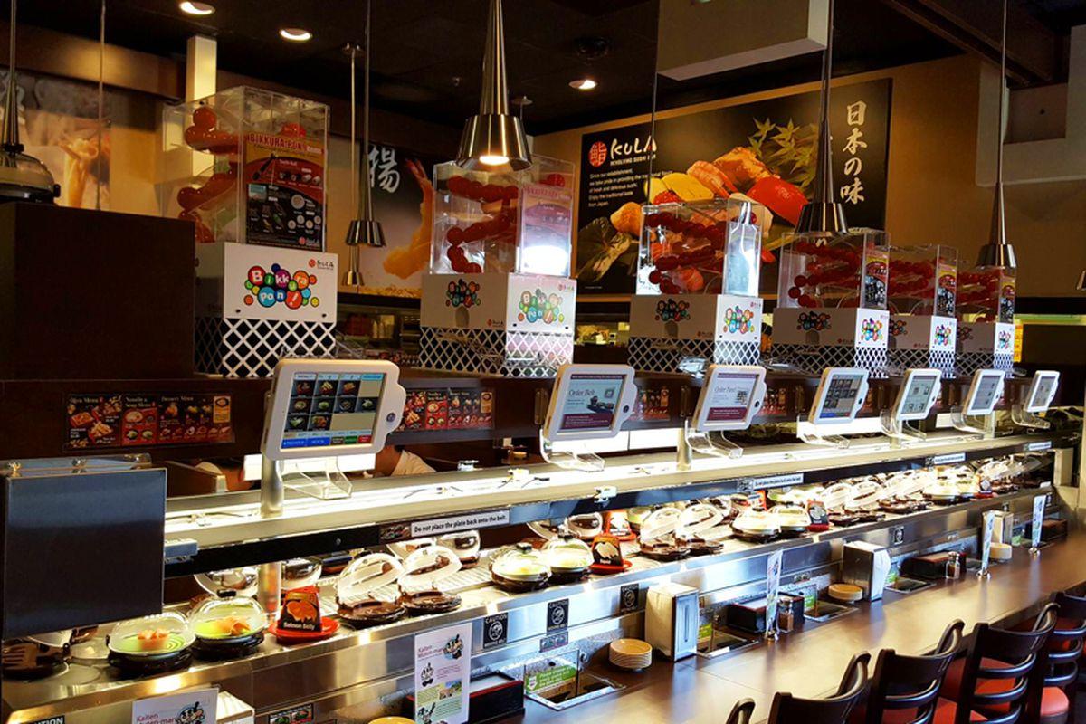 A sushi bar