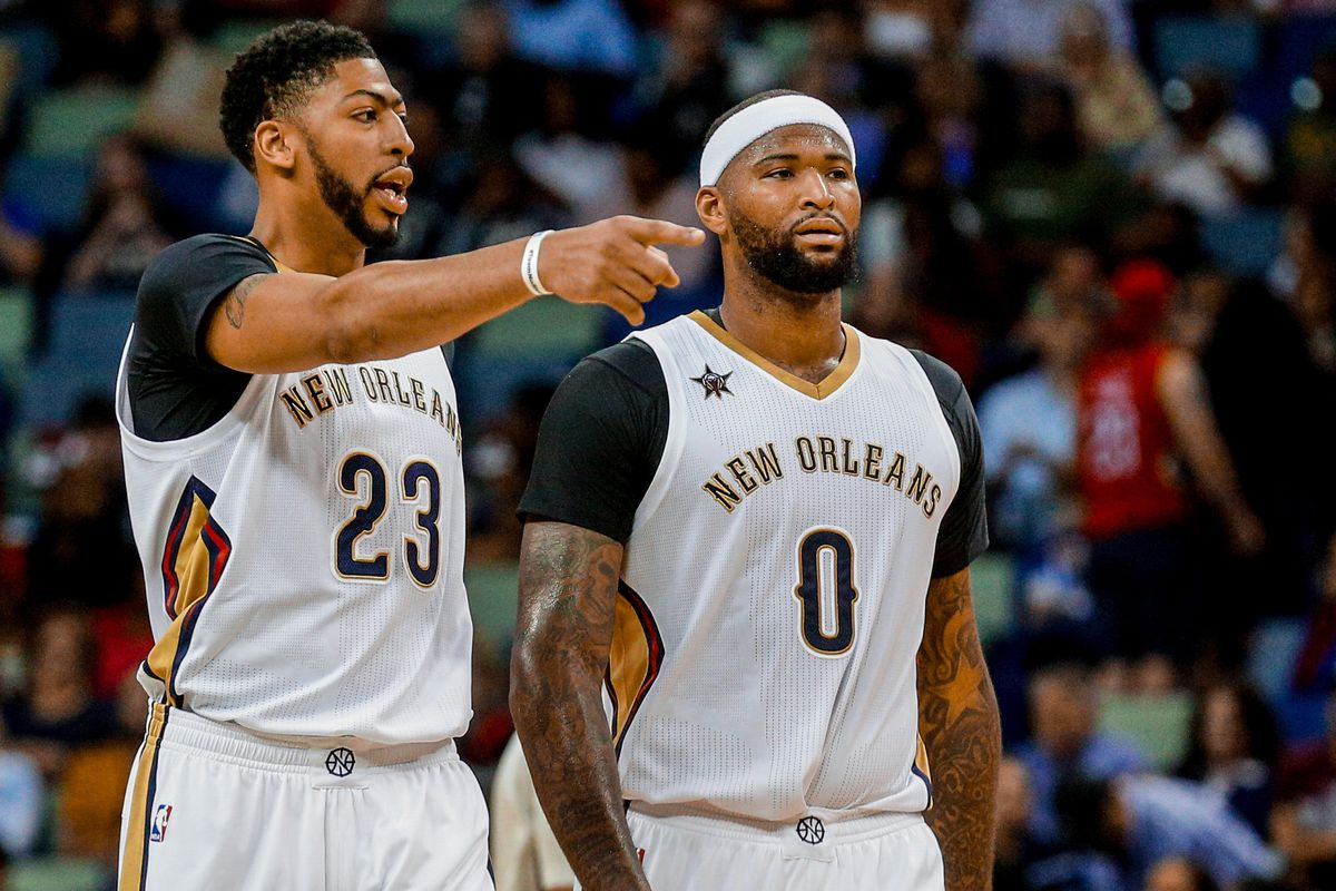 Image result for images of anthony davis and cousins