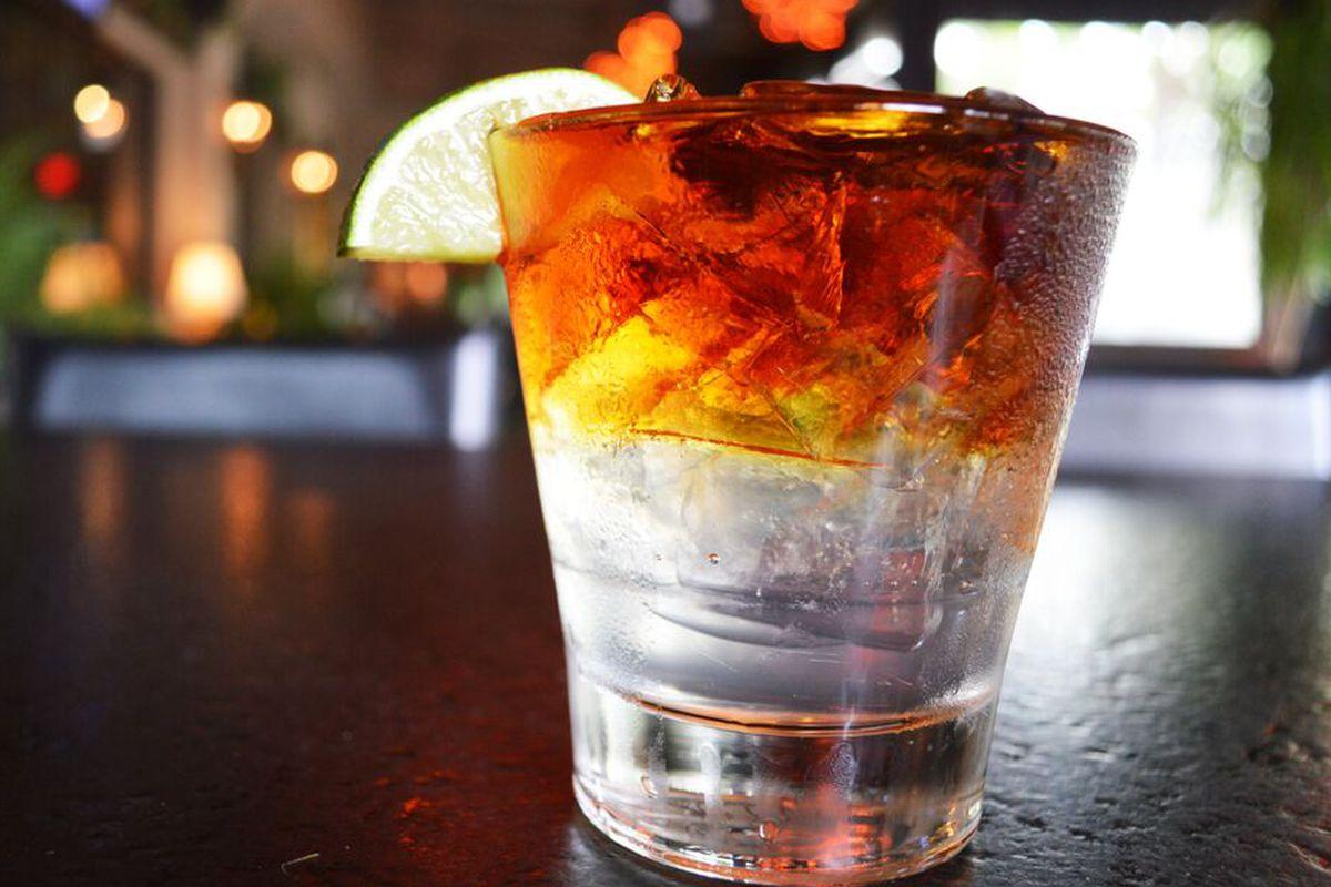 Rothko Cocktail at Monarch Bar