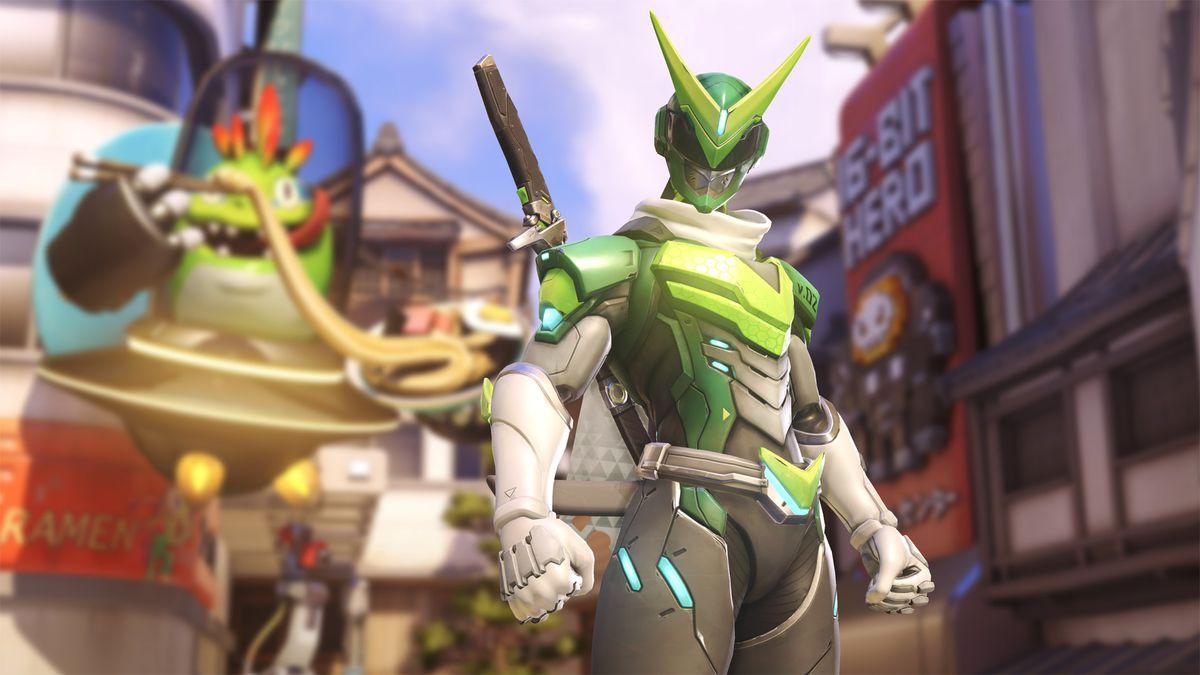 Overwatch Anniversary event skin for Genji