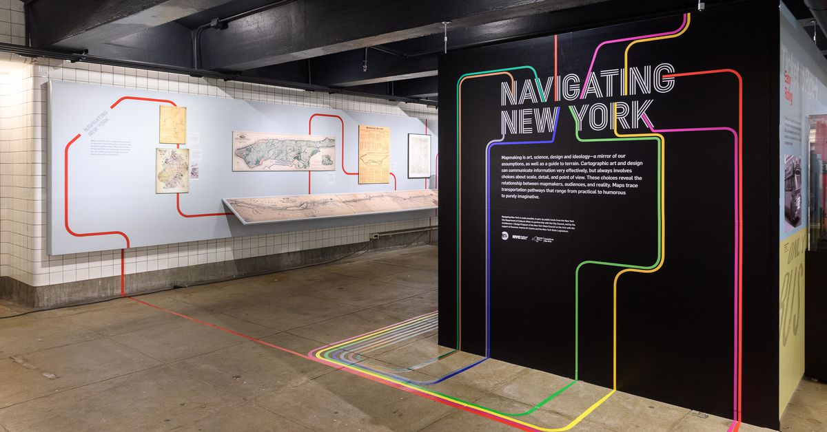 Used Cars In Atlanta >> NYC subway map's history and influence examined in new museum exhibit - Curbed NY