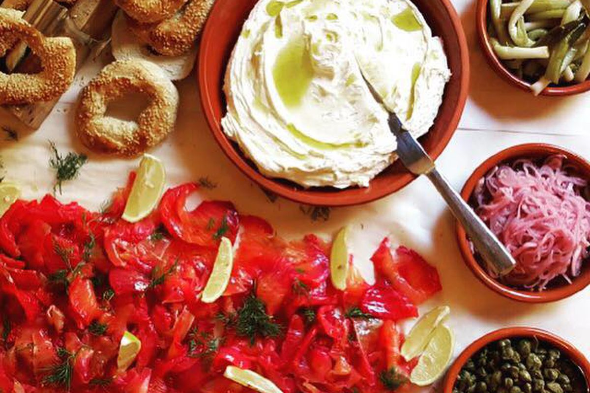 bagels and schmear jewish stereotypes in Twenty-four hours with a lick to eatthere's nothing like a bagel and a schmear of cream cheese to yom kippur: 10 foods we can't wait to eat for observant jews.