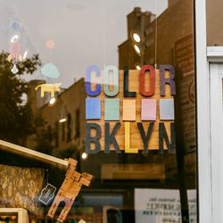"""<b>↑</b>Appropriately named, <b><a href=""""http://www.colorbklyn.com/"""">Color BKLYN</a></b> (760 Washington Avenue) is full of bright, vibrant stationery, home goods, and accessories. It's the kind of shop you can get totally lost in, flipping through books,"""