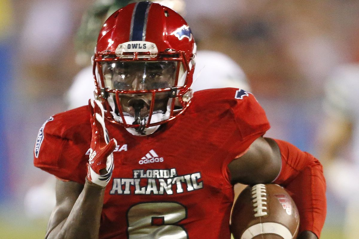 sneakers for cheap 7185b 96511 Steelers host FAU RB Kerrith Whyte Jr. on pre-draft visit ...
