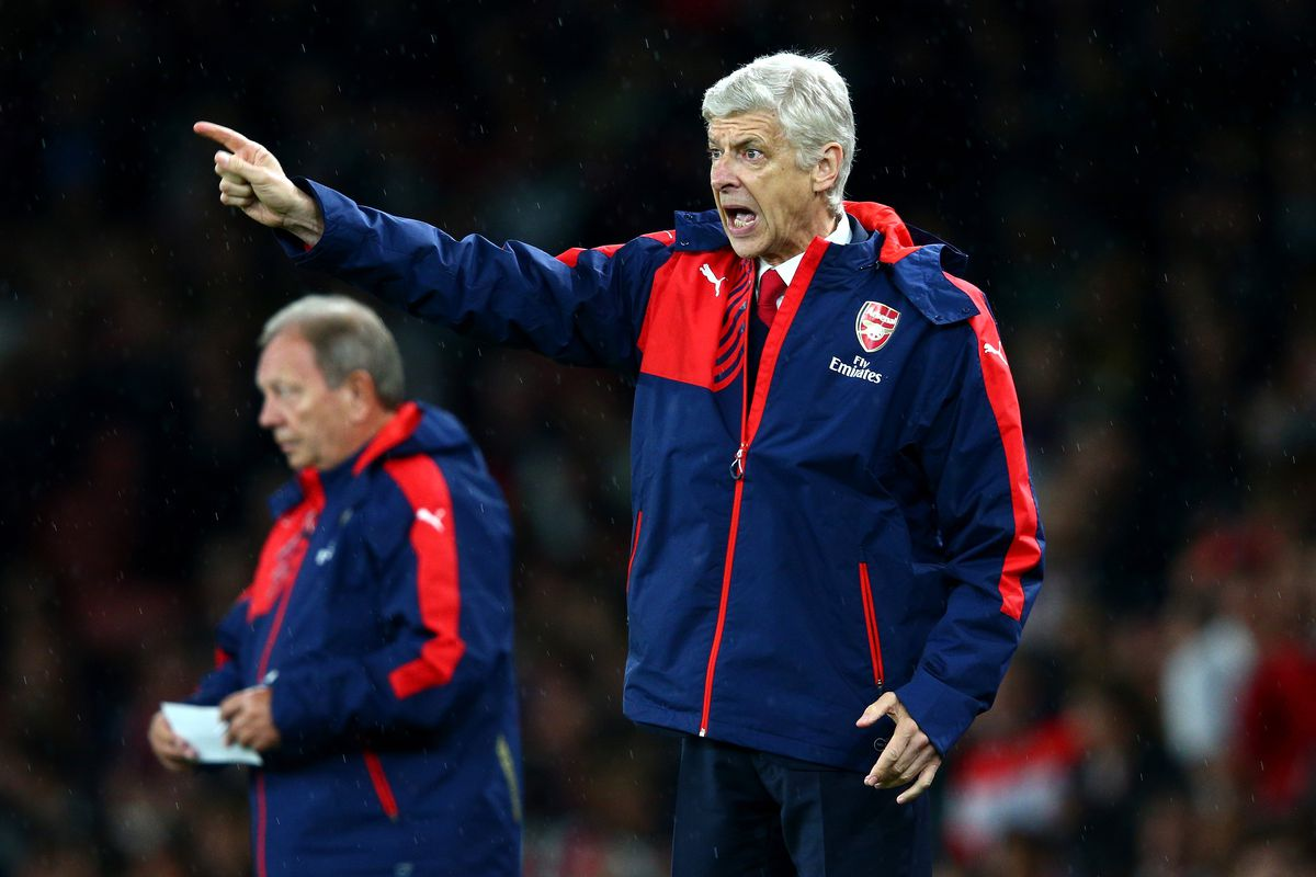 Without his first-choice center backs, Wenger may be yelling quite a bit this week.
