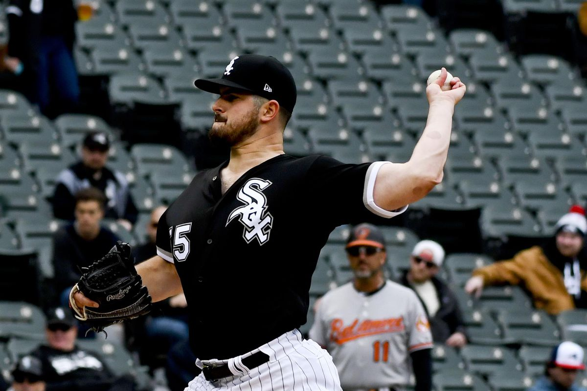 MLB: Game One-Baltimore Orioles at Chicago White Sox