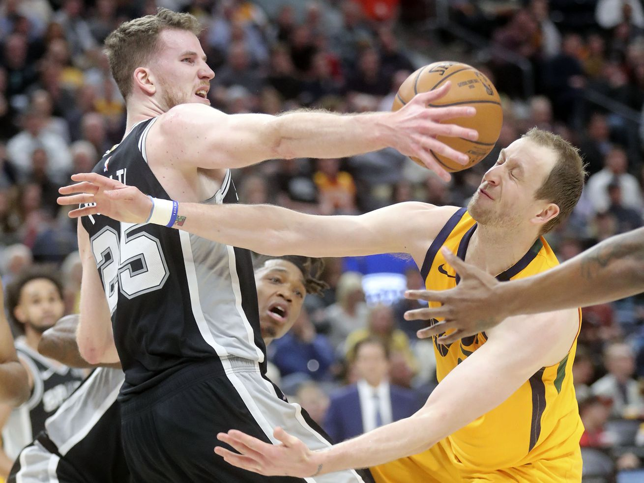 Utah Jazz outplayed on both ends of the floor in loss to San Antonio Spurs