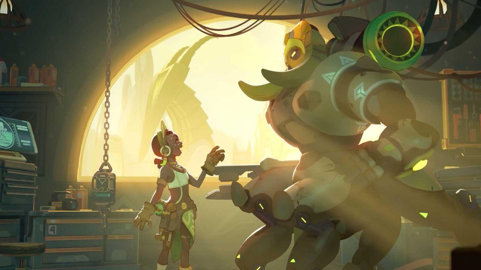 Overwatch Orisa Guide Polygon