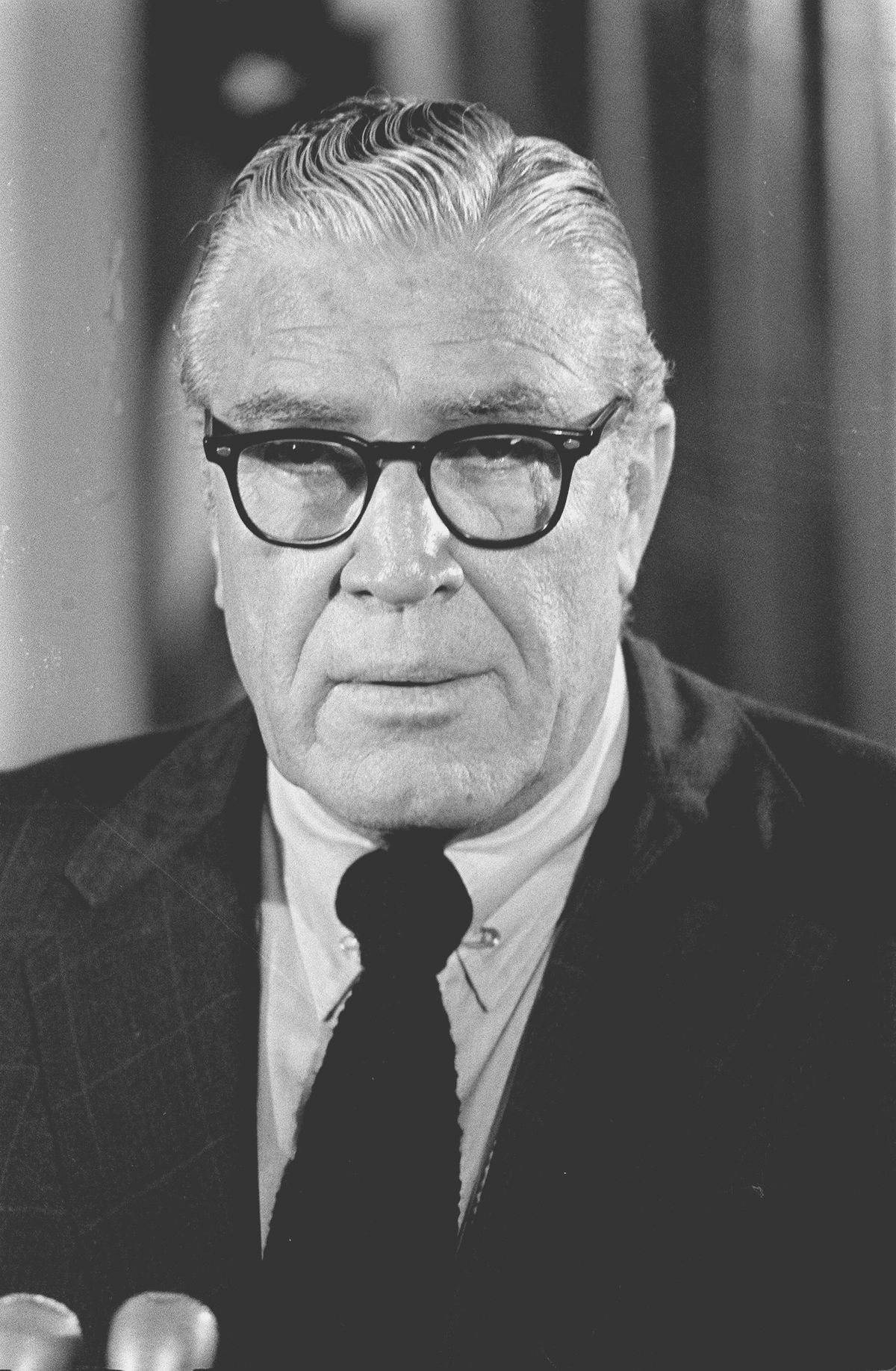 Clarence M. Kelley, FBI director from 1973 to 1978.