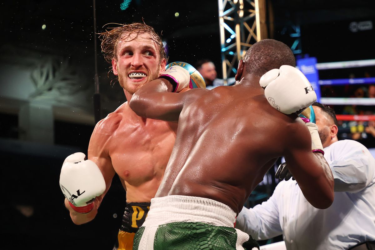 Logan Paul survives all eight rounds with Floyd Mayweather in boxing  exhibition - MMA Fighting
