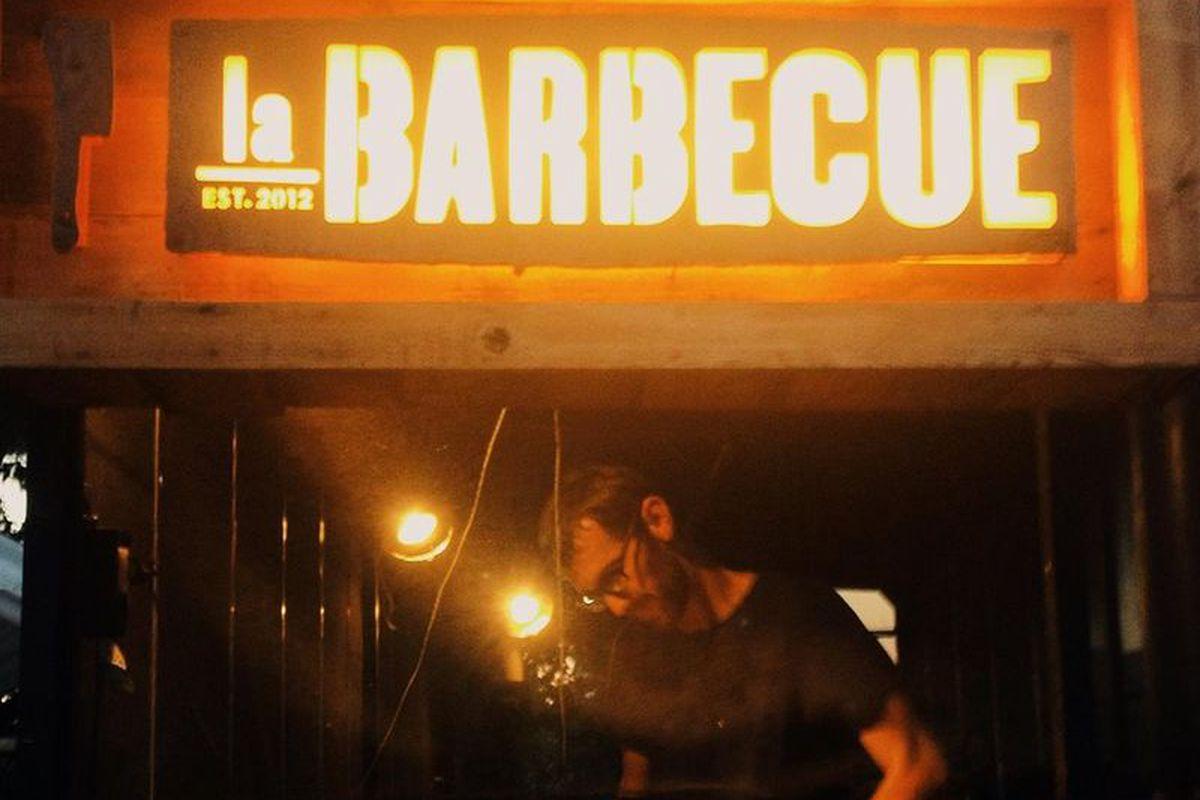 John Lewis at La Barbecue
