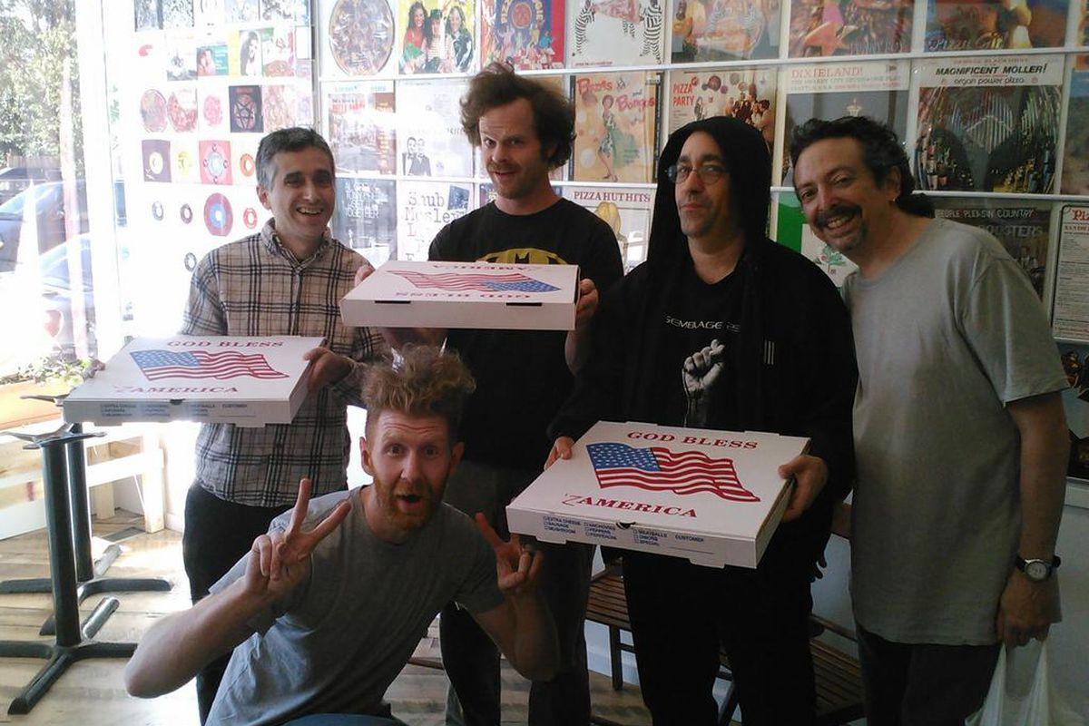 The Dead Milkmen visit Pizza Brain