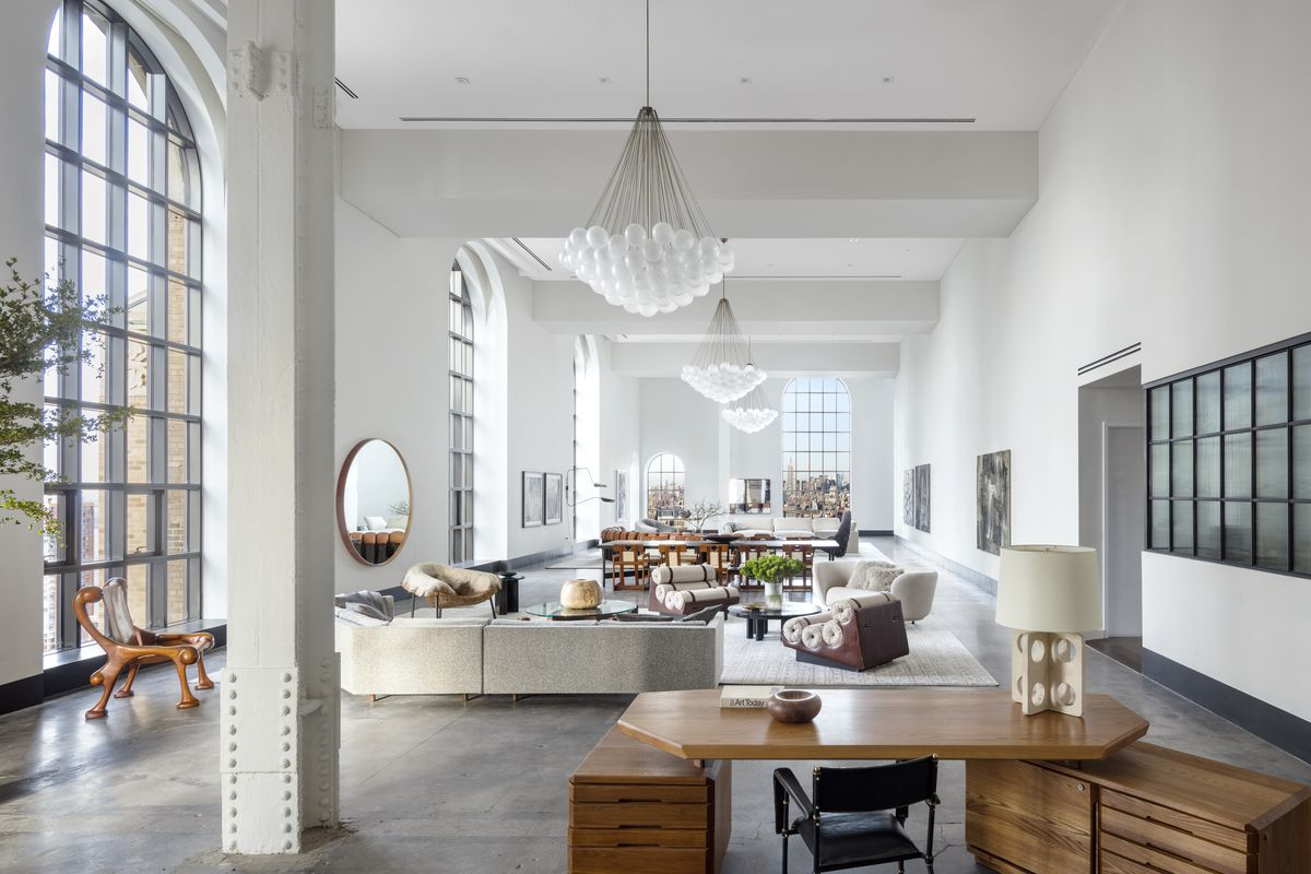 Penthouse at Ralph Walker's famed Tribeca tower lists for ...