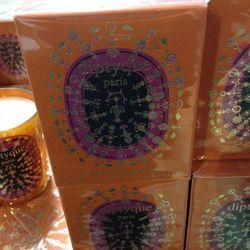 Holiday candle, Orange Chaya