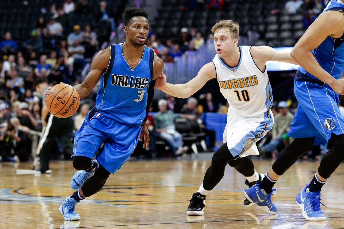 NBA: Preseason-Dallas Mavericks at Denver Nuggets