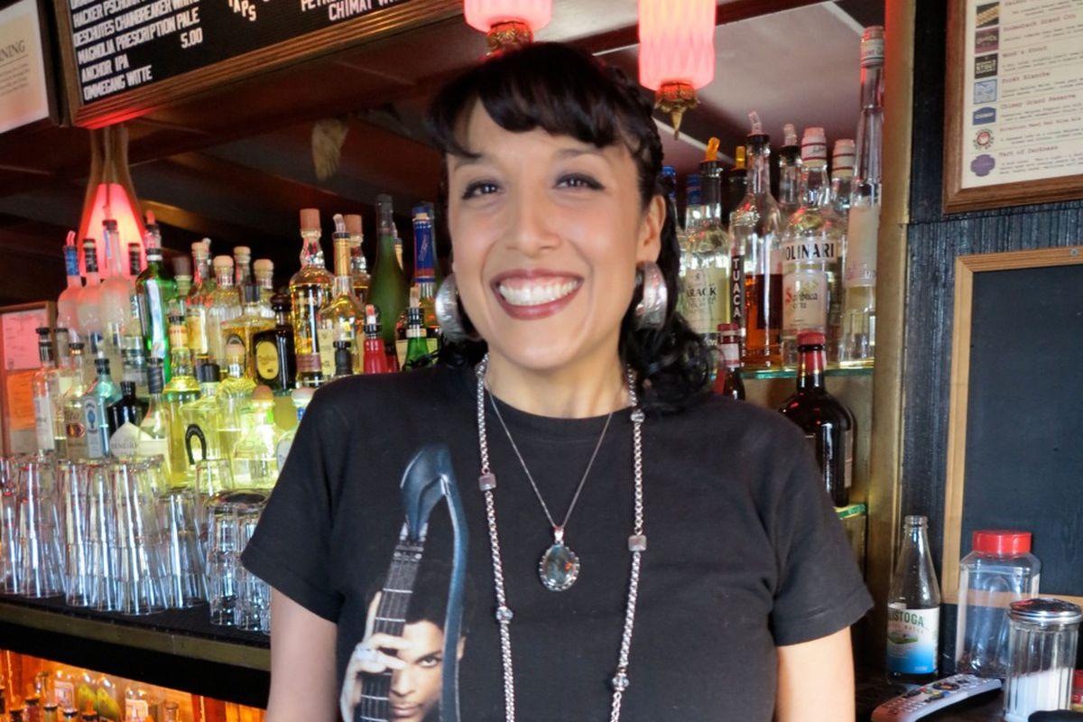 "Photo via <a href=""http://hoodline.com/2014/04/bartender-profile-raquel-from-the-page"">Hoodline</a>"