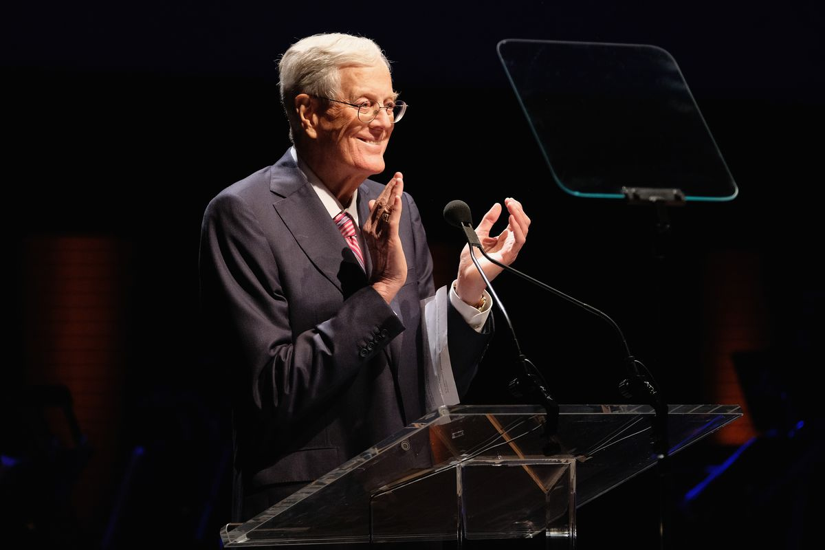 Koch brothers support Meredith bid for Time