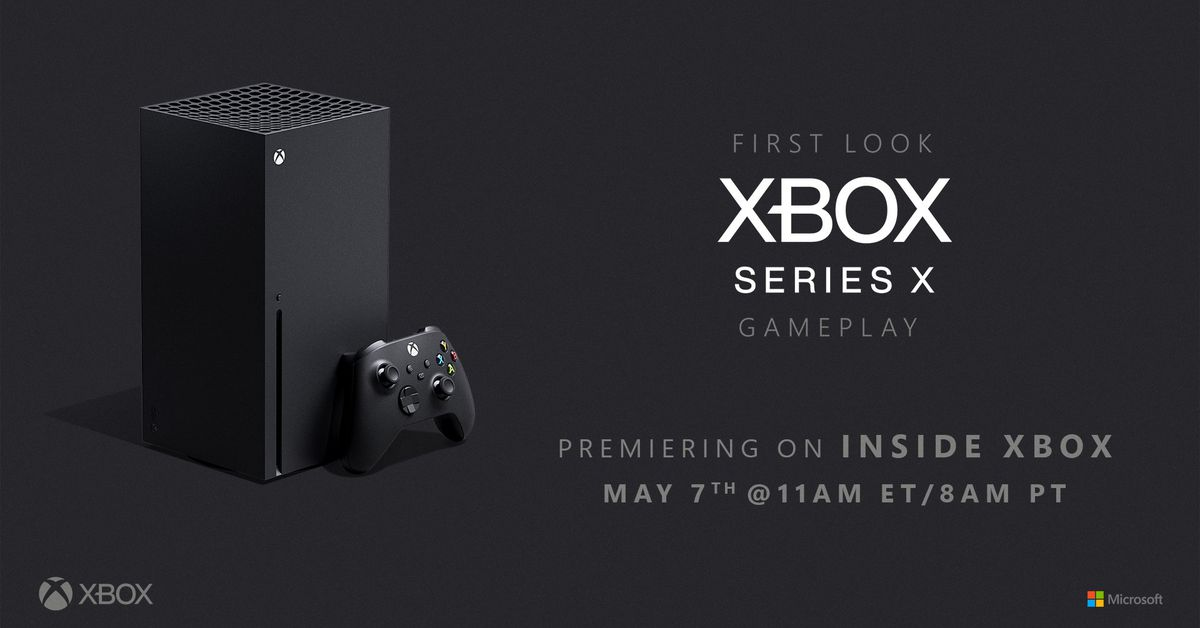 Microsoft to demo Xbox Series X games on May 7th – The Verge