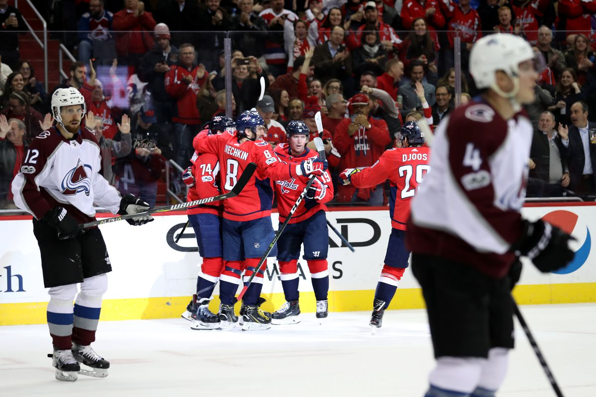 Capitals vs. Avalanche Game Thread - Japers  Rink 256765d57c86