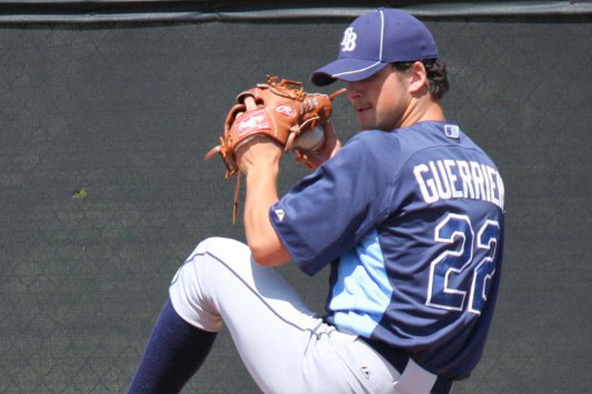 The setback in Tommy John surgery rehab did not deter voters from choosing Taylor Guerrieri
